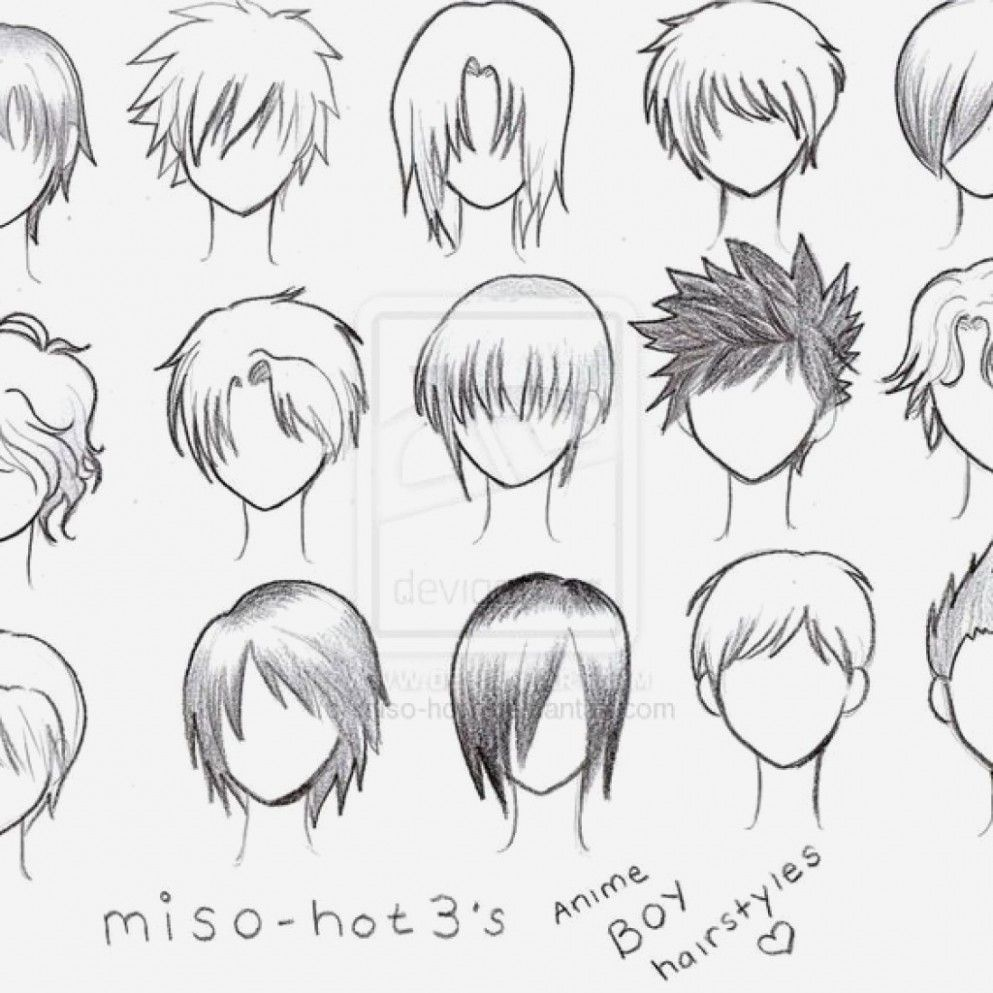 Short Hairstyle Drawings In 2020 Anime Hair Anime Boy Hair Anime Hairstyles Male