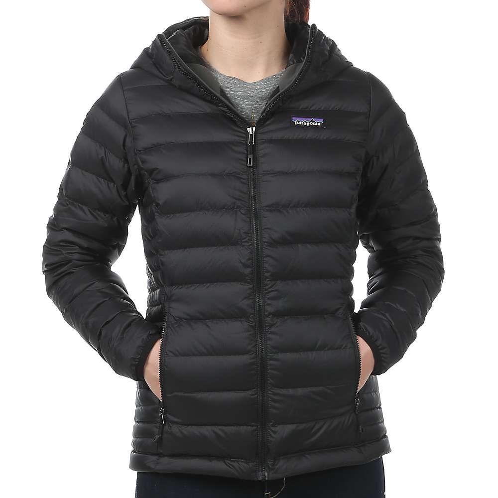 Patagonia Women S Down Sweater Hoody Patagonia Jacket Women Black Patagonia Jacket Black Jacket Hoodie [ 1000 x 1000 Pixel ]