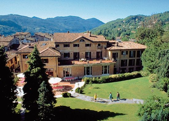 TASIS, a boarding school in the south of Switzerland near Lugano ...