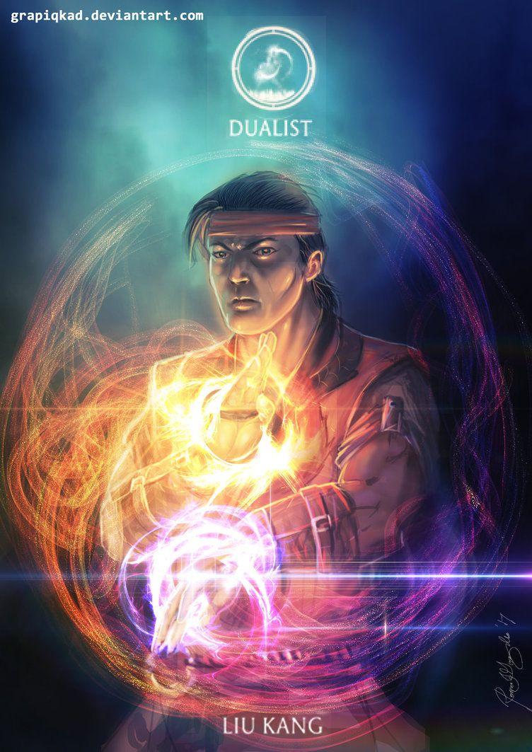 Liu Kang Tattoo: Mortal Kombat X-Liu Kang Dualist Variation By Grapiqkad