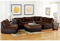 Signature Ii 6 Piece Sectional Group In Brown Brown Sectional