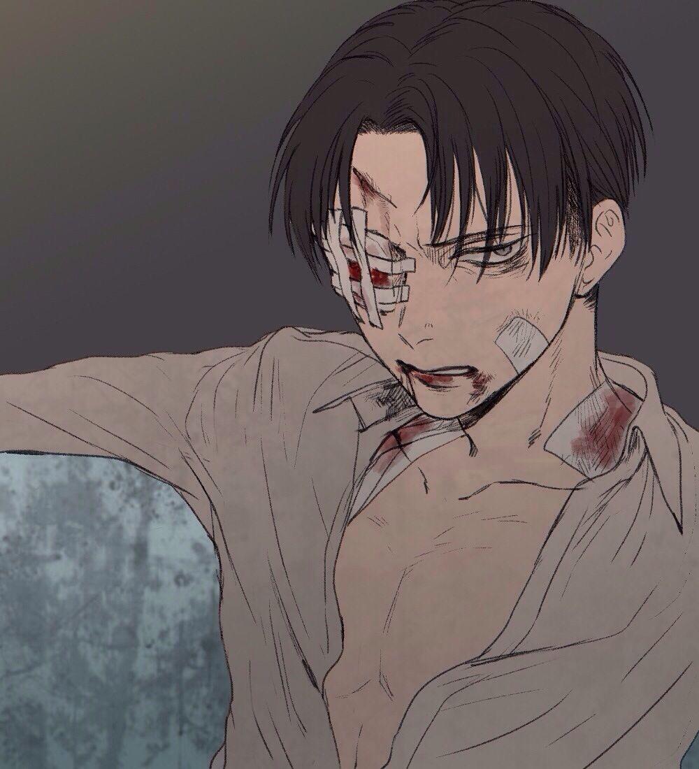 Awww he's beaten up... But still sexy ;) | Anime folder ...