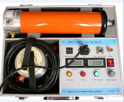 Dc Hipot Direct Current Source Current Source Power Cable High Voltage