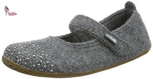 Chaussures Living Kitzbühel grises fille h4vzKYkQh