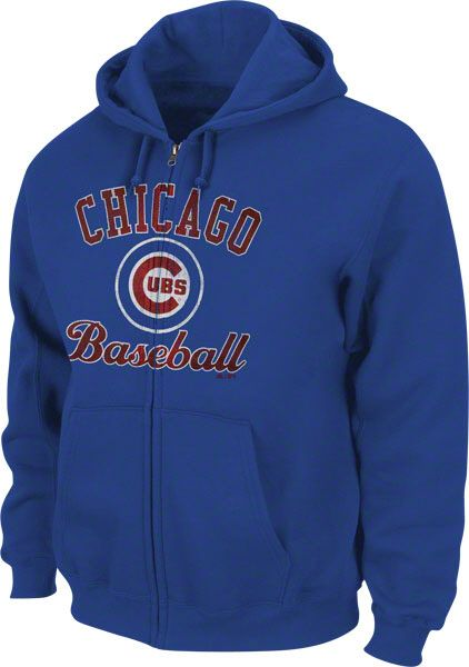 8c3f9574514 Chicago Cubs Apparel   2016 World Series Champions Merchandise. Chicago Cubs  Bound for Glory Full-Zip Hooded by Majestic (3.27.12)