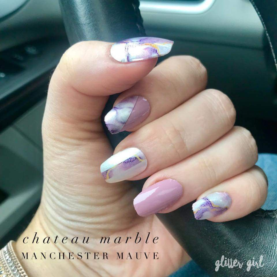 Brand New Fall Sets To Be Released Very Soon From Color Street I Am In Love With The Marble In The C Color Street Nails Cool Nail Designs Wedding Nails Design