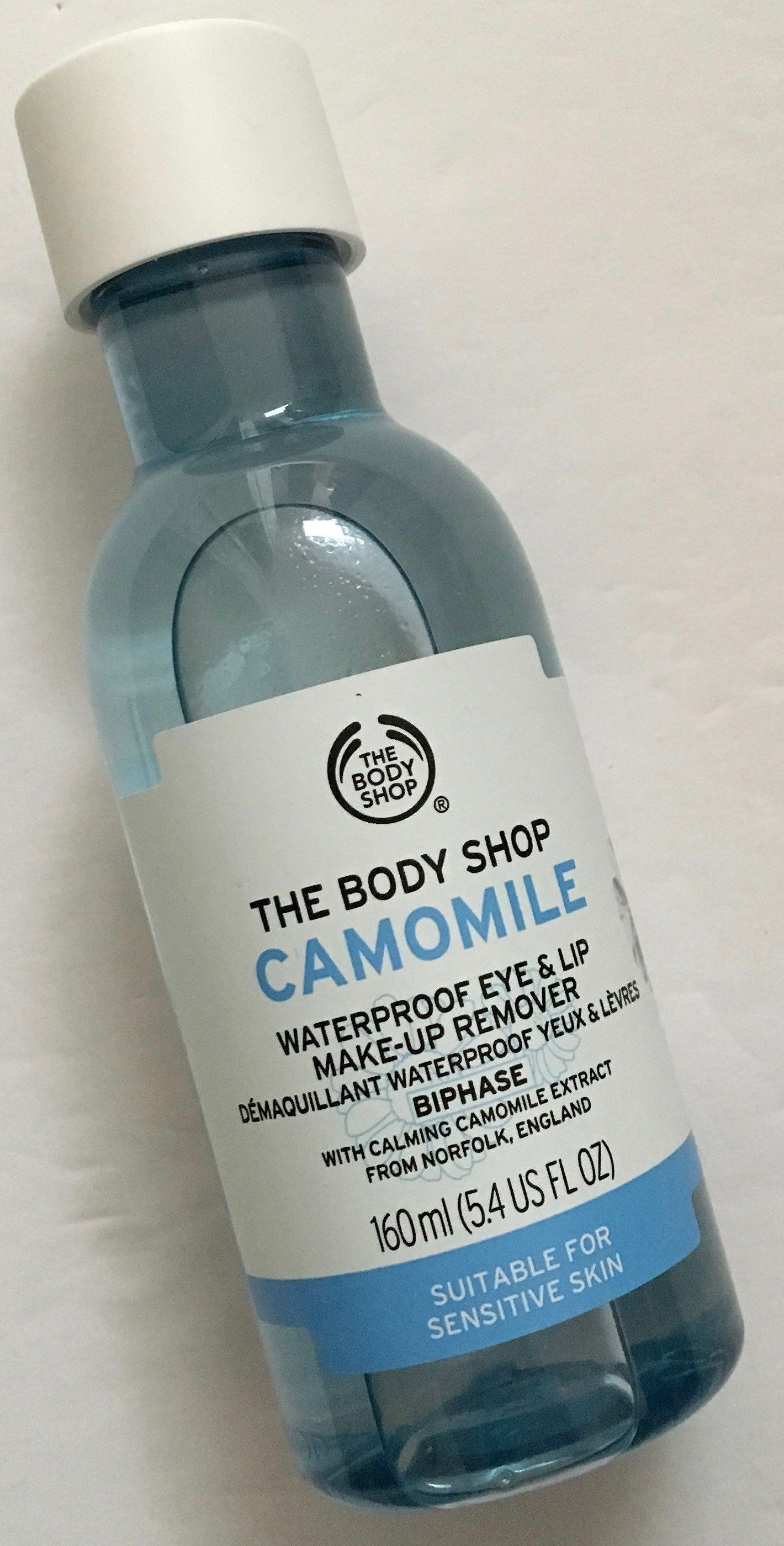 The Body Shop Camomile Waterproof Eye and Lip Makeup