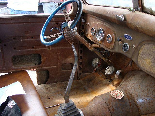 Rusty Cockpit 1938 Ford Truck By John P Sullivan Via Flickr