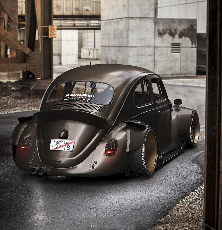 """Minst en handfull exklusiva fordon har utsatts för skadegörelse i västra malmö under natten till söndagen. 🔰 Robert Design on Instagram: """"Vw Fusca/Beetle - RWB 🇯🇵"""