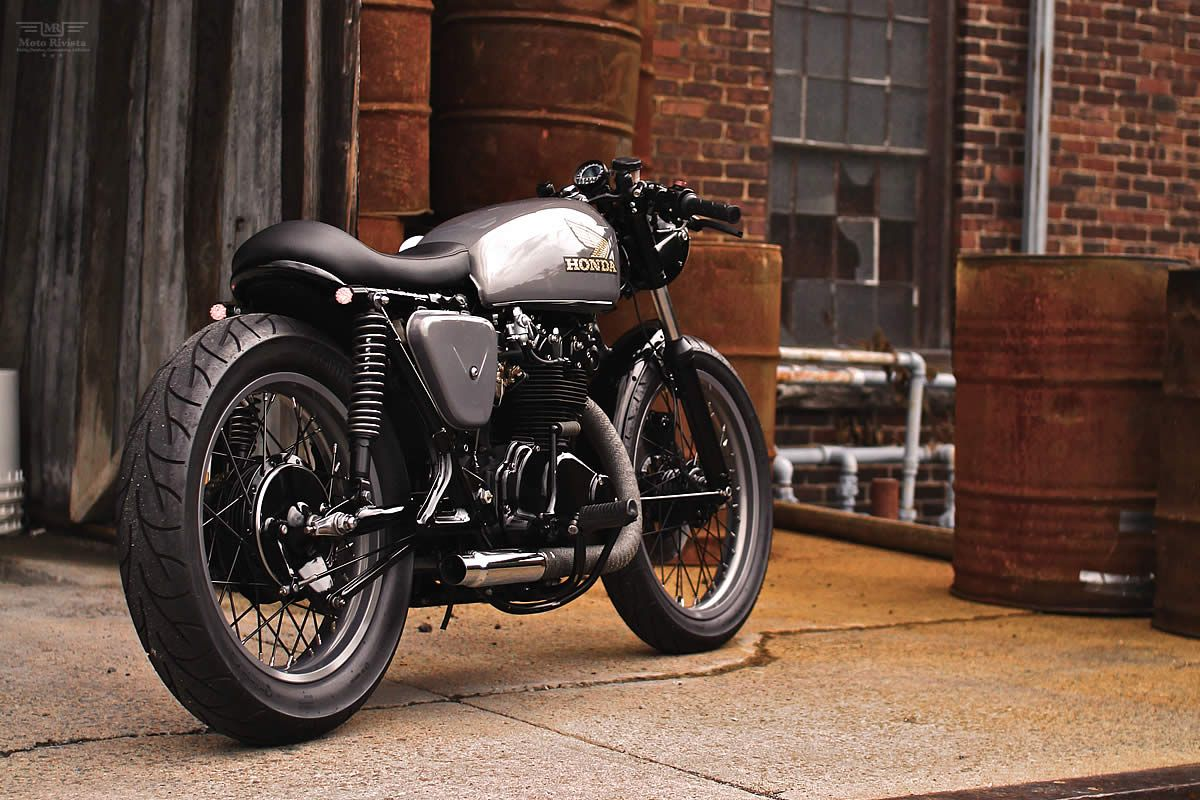 Hardsun Motorcycles Honda Cb450 Cafe Racer Called Lucky 13