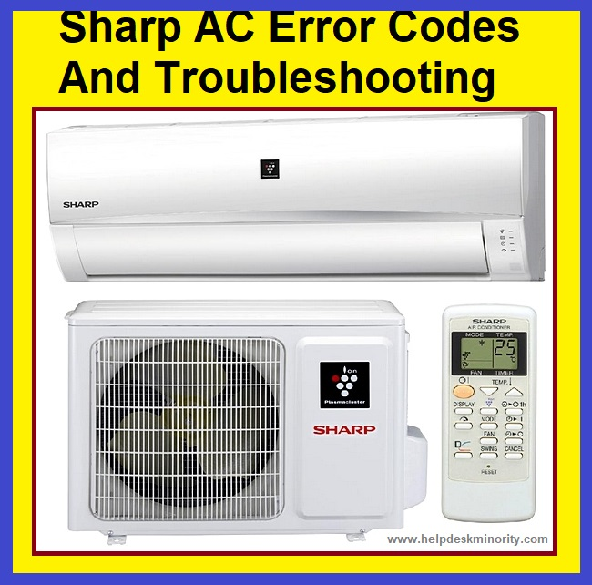 Sharp Ac Error Codes Troubleshooting Hvac Technology Error Code Coding Hvac