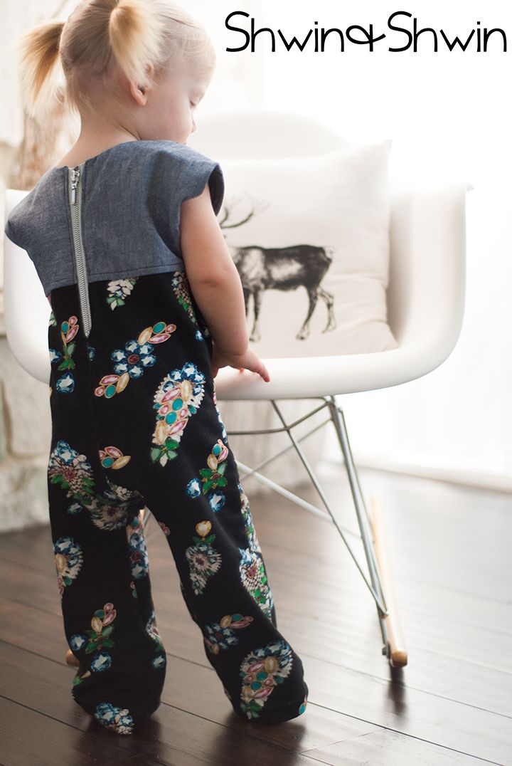 free playsuit pattern from shwin and shwin