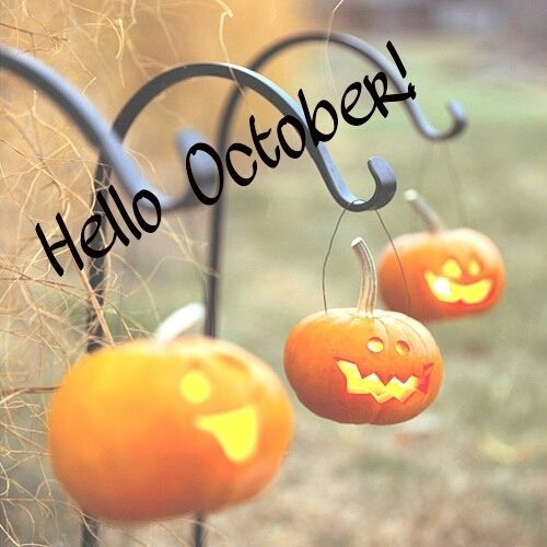 Charming Hello October Hello October October Quotes Month October