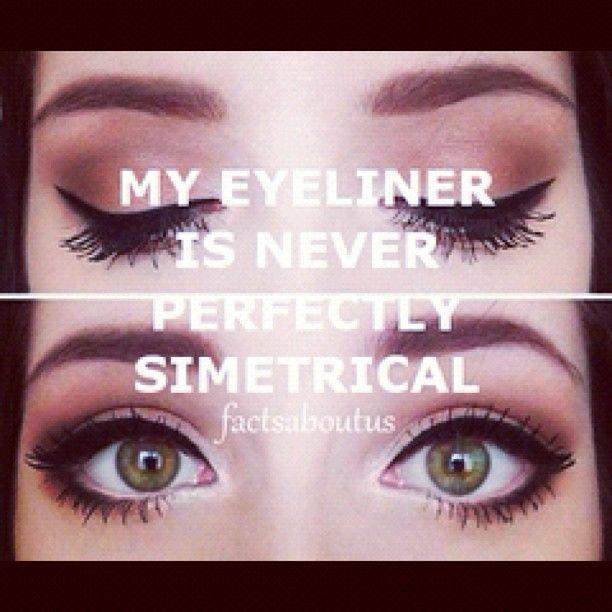 symmetrical! #eyes #eyeliner #liquideyeliner #eyeshadow #makeup