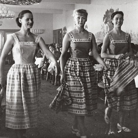 Marimekko first fashion show 1951