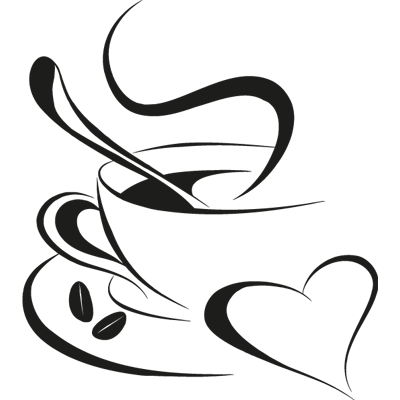 Taza café 12 | Sticker y Vinilos | Pinterest