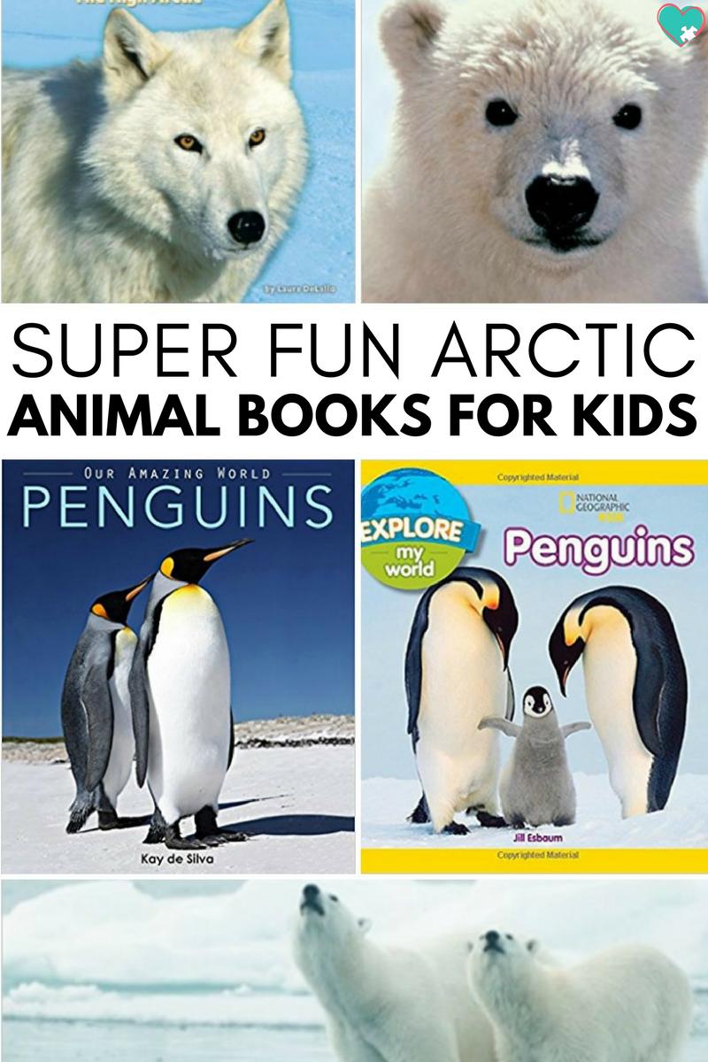 Super Fun Arctic Animal Books For Kids Animal Books Arctic Animals Arctic Animals For Kids