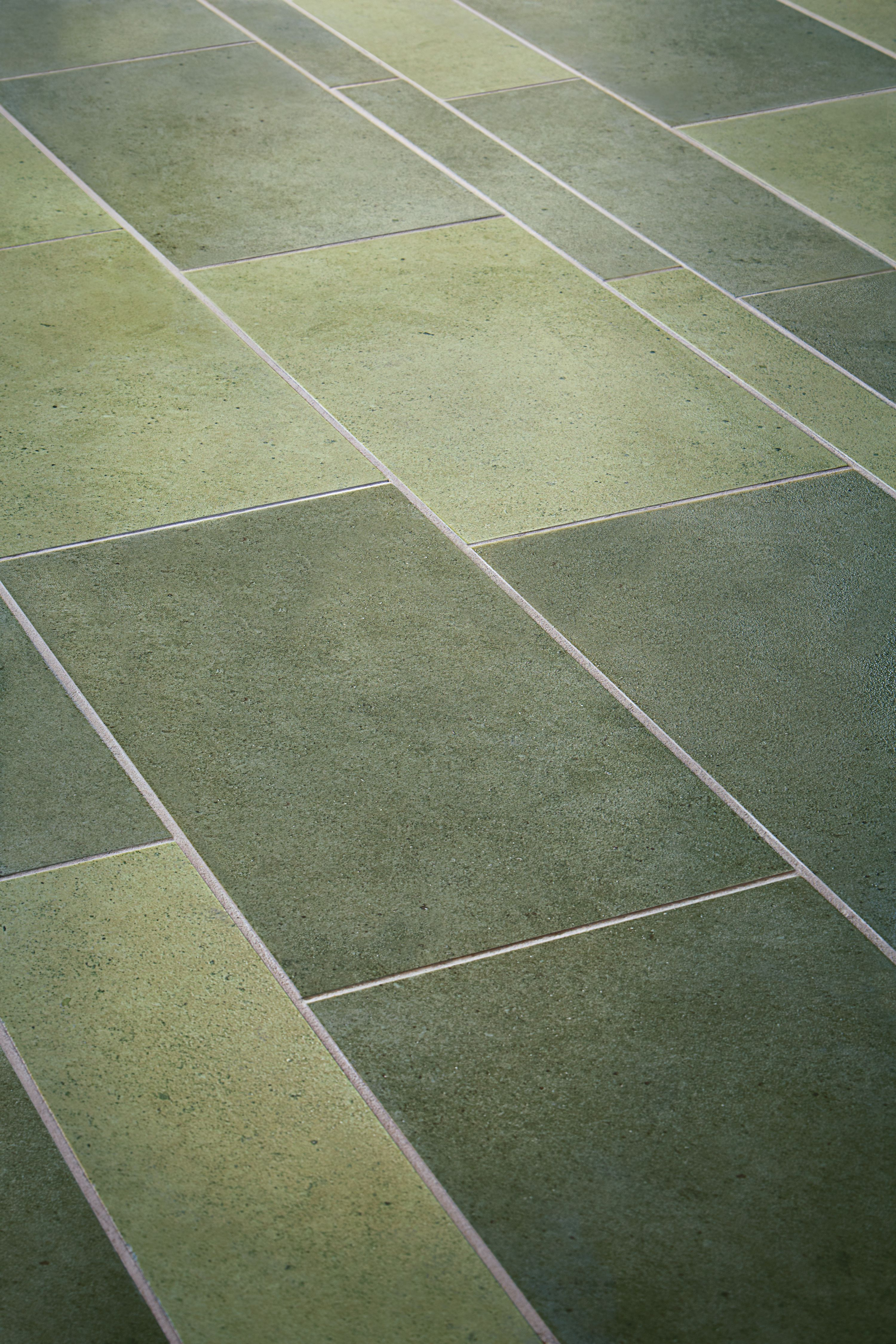 It S Easy Being Green Argent Porcelain Tile Collection By