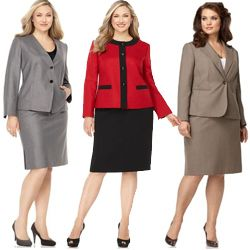 Plus Size Skirt Suits Women S Plus Size Suits My Fashion Style