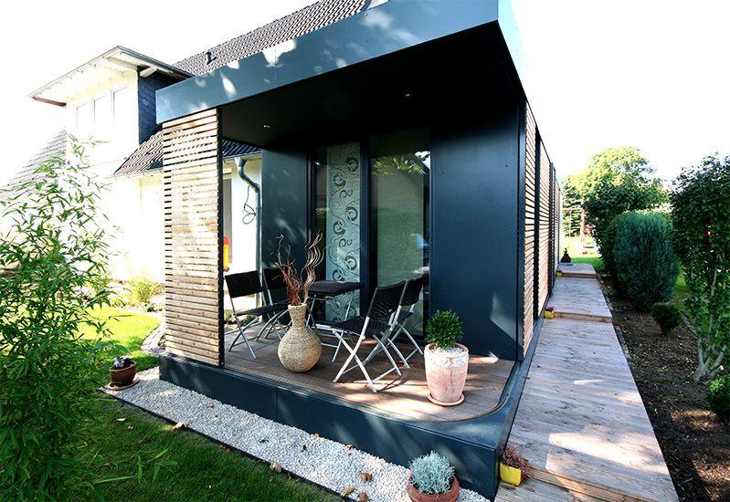 Neues wohnen im cubig designhaus minihaus wohnideen for Cubig minihaus