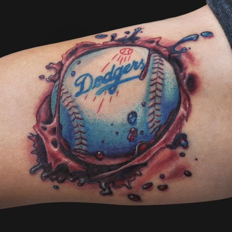 Jamie parker baseball tattoo tattoos for guys