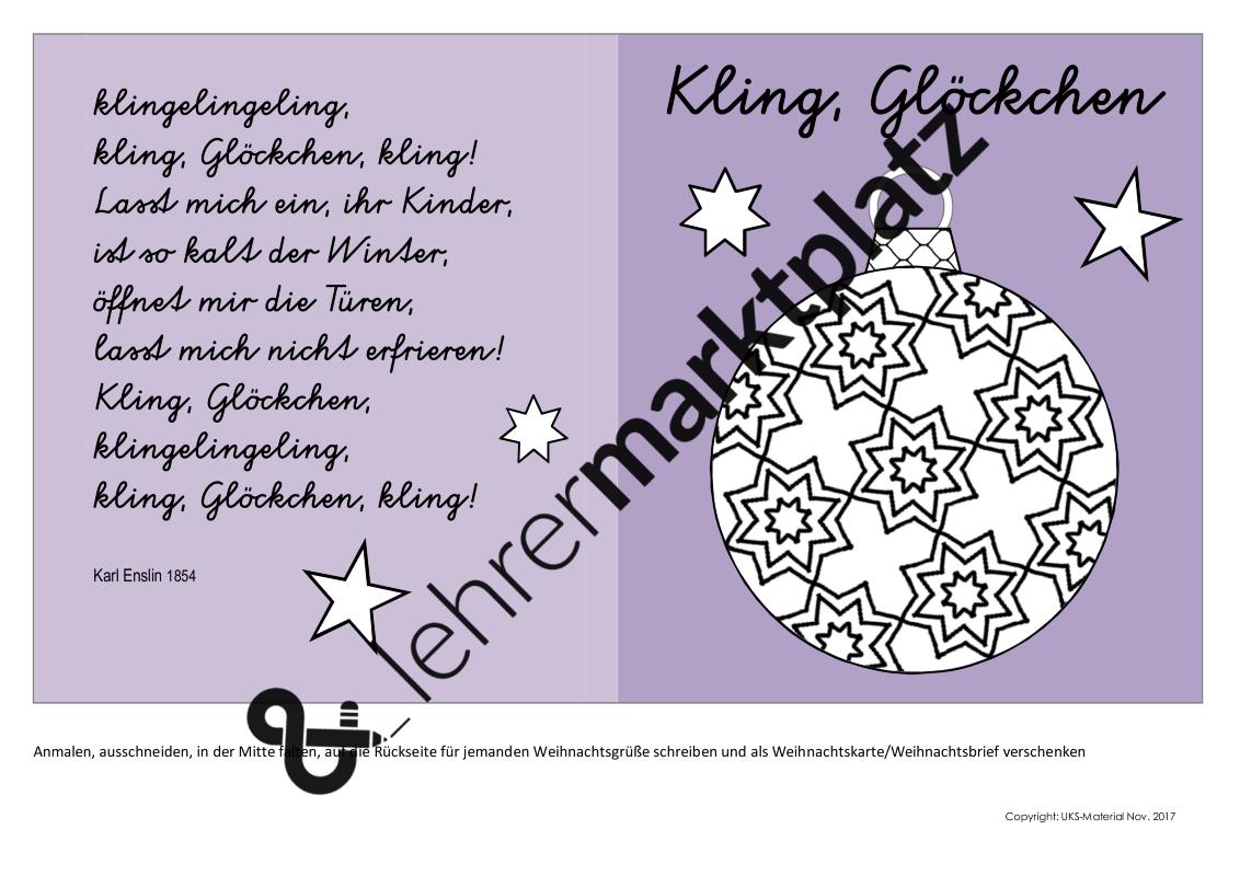 Transparente Christbaumkugeln.Vorlagen Für Karten Und Transparente Mit Weihnachtsliedern Und