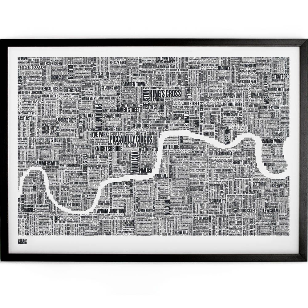 central london street map poster Google Search Guest Bedroom