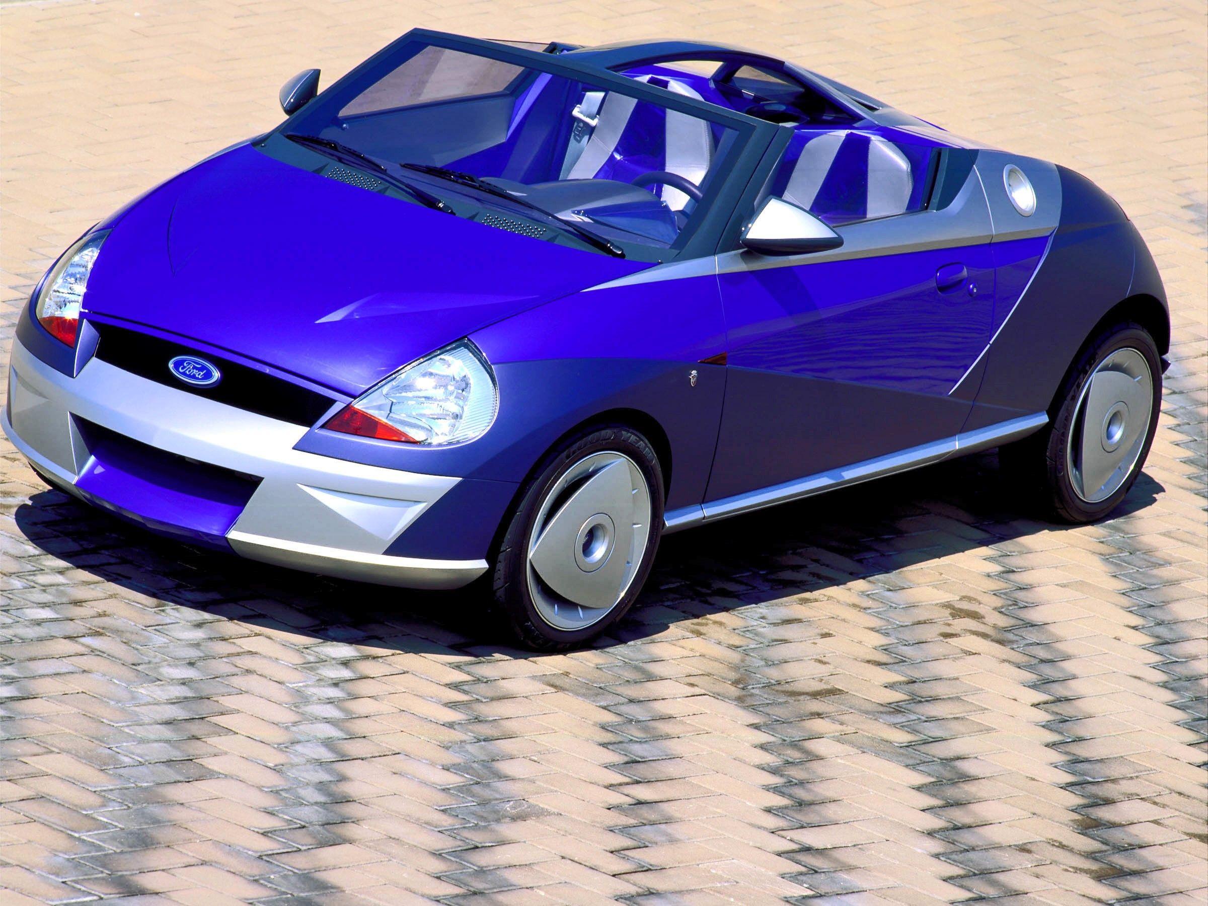 Ford fiesta concept saetta 1996