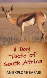 11 Day Taste of South Africa - Guided Safari
