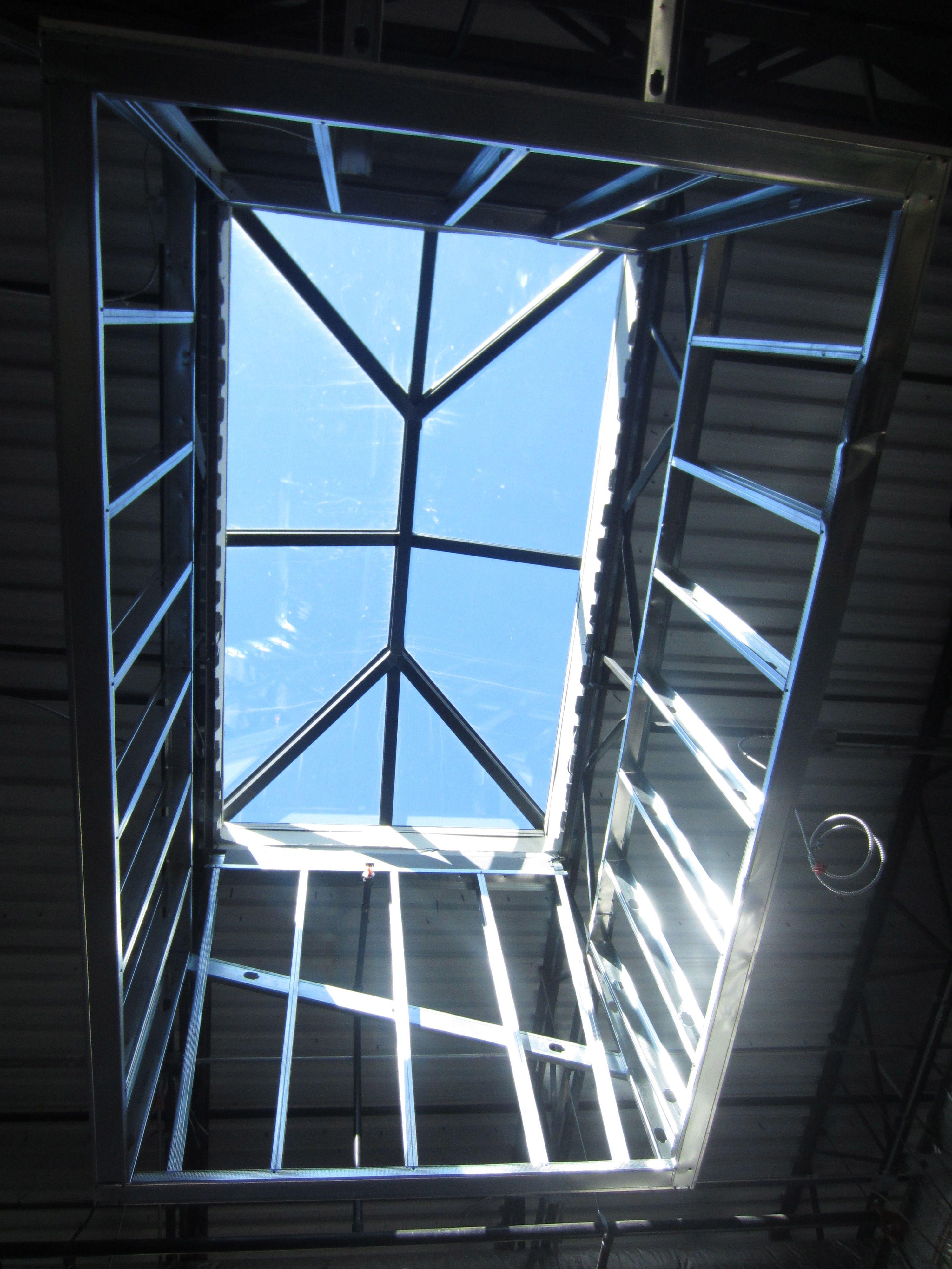 Custom Daylighting Systems Custom Roof Skylights Manufacturers Bristolite Skylight Roof Skylight Eiffel Tower Inside