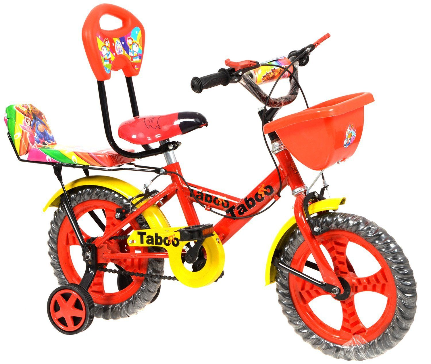e7bf2d637 Taboo Red   Yellow Bicycle For Kids