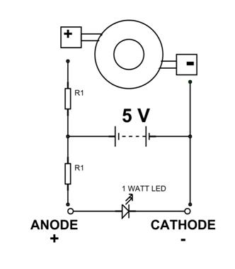 1 Watt Led Circuit With Resistance Led Watt Circuit