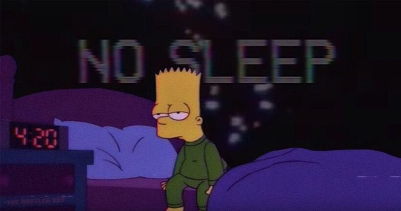 Mood Chill Bart Simpson
