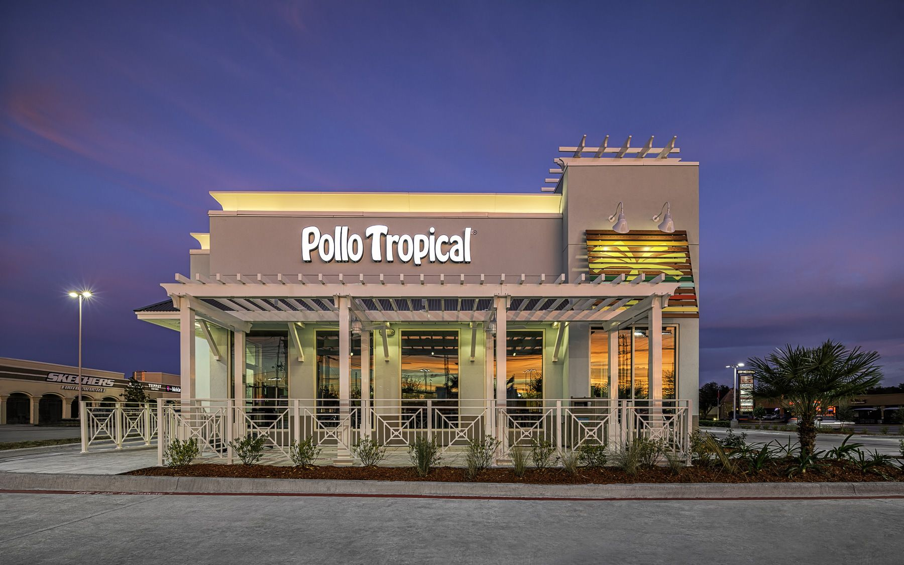 pollo tropical restaurant – west facade http://mabrycampbell
