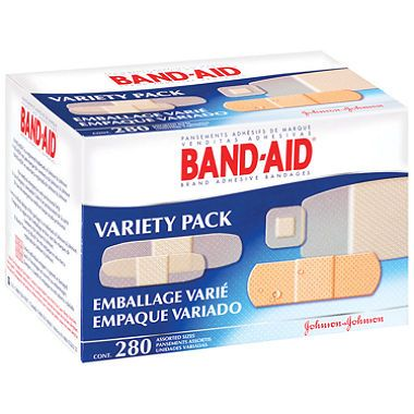 Johnson Band Aid Variety Pack 11 48 Band Aid School Emergency Kit Variety Pack