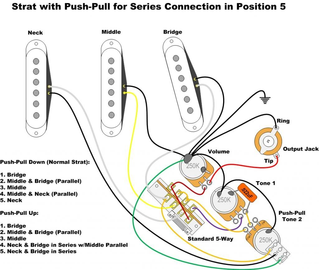Fender Standard Stratocaster With Vintage Noiseless Pickup Mod >> Check out this site as it has all kinds of schematics- Phostenix Wiring Diagrams | Wiring ...
