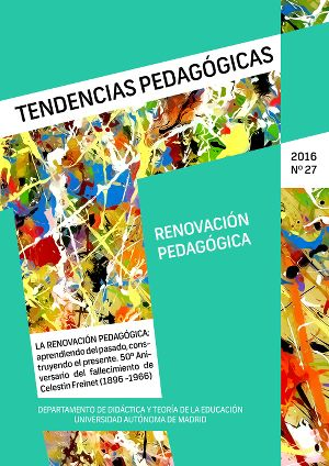 Revista Tendencias Pedagógicas.