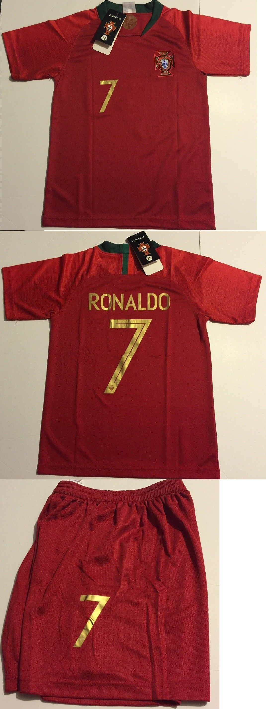 best website 9ad02 4d76c Clothing Shoes and Accessories 159178: Portugal Ronaldo Kids ...