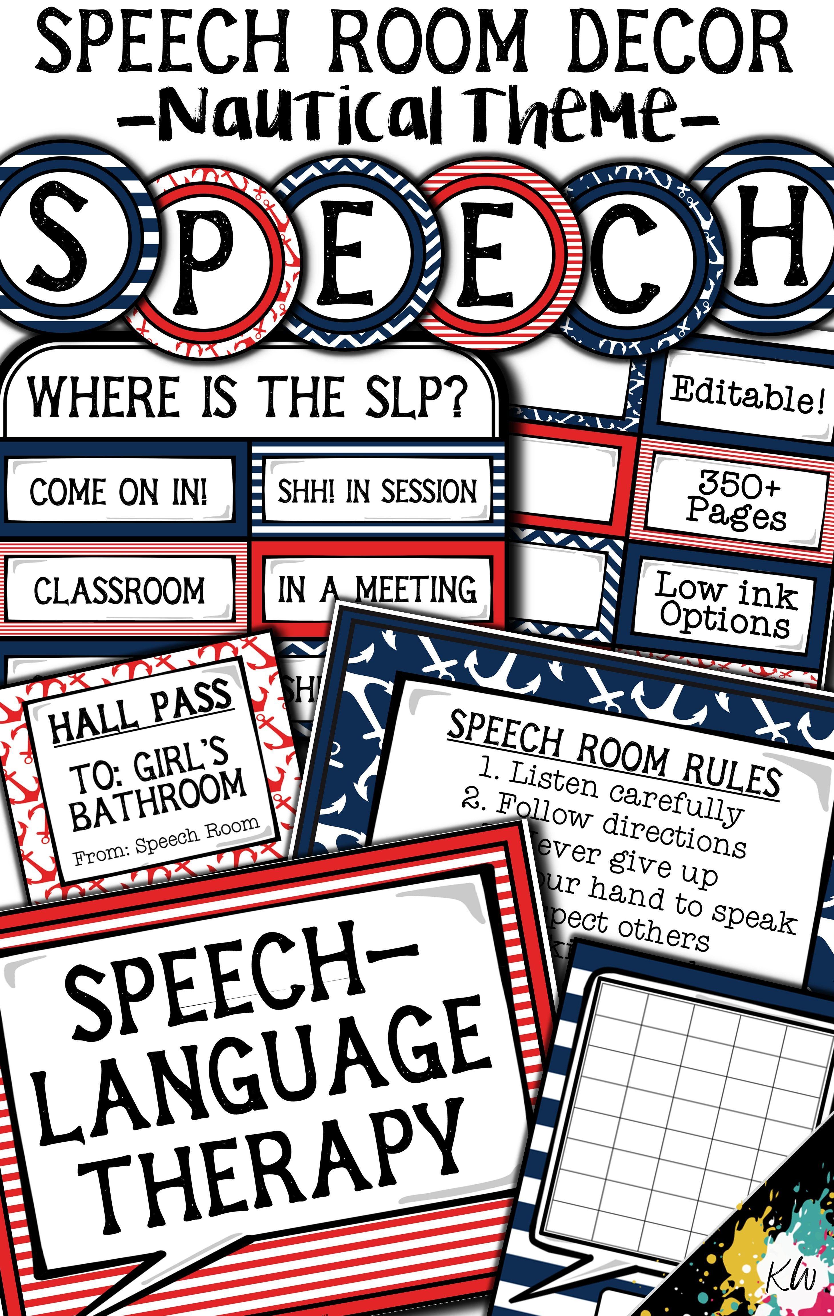 i need speech therapy