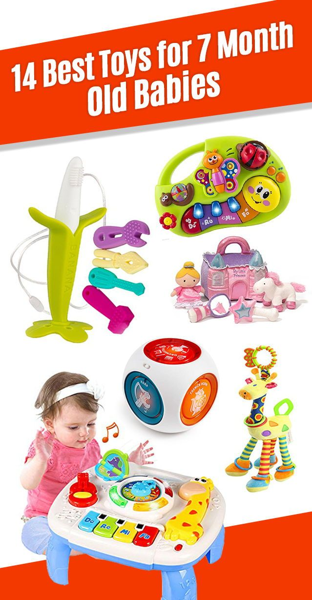 14 Best Toys for 7 Month Old Baby for 2020 (With images ...