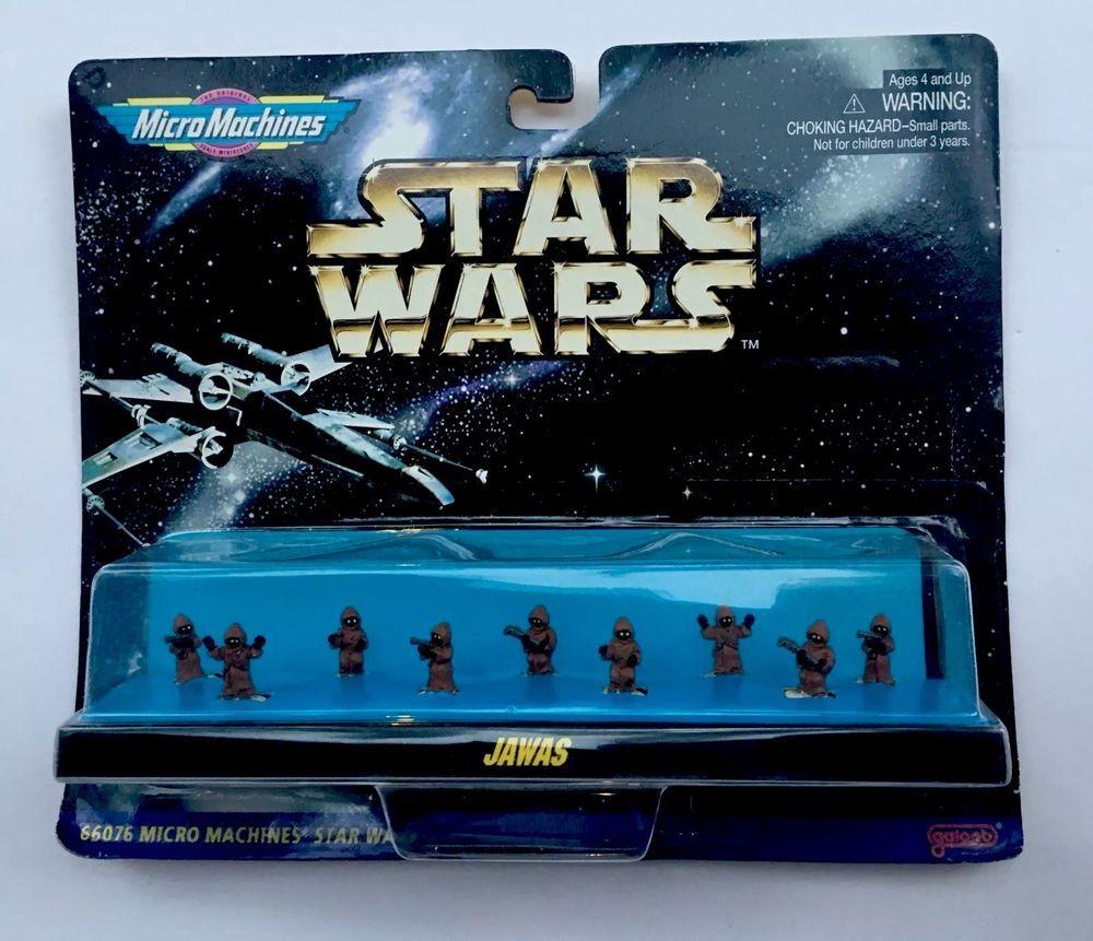 Star wars MICRO MACHINES JAWA Tatooine New Hope Mini Head Play Set GALOOB L