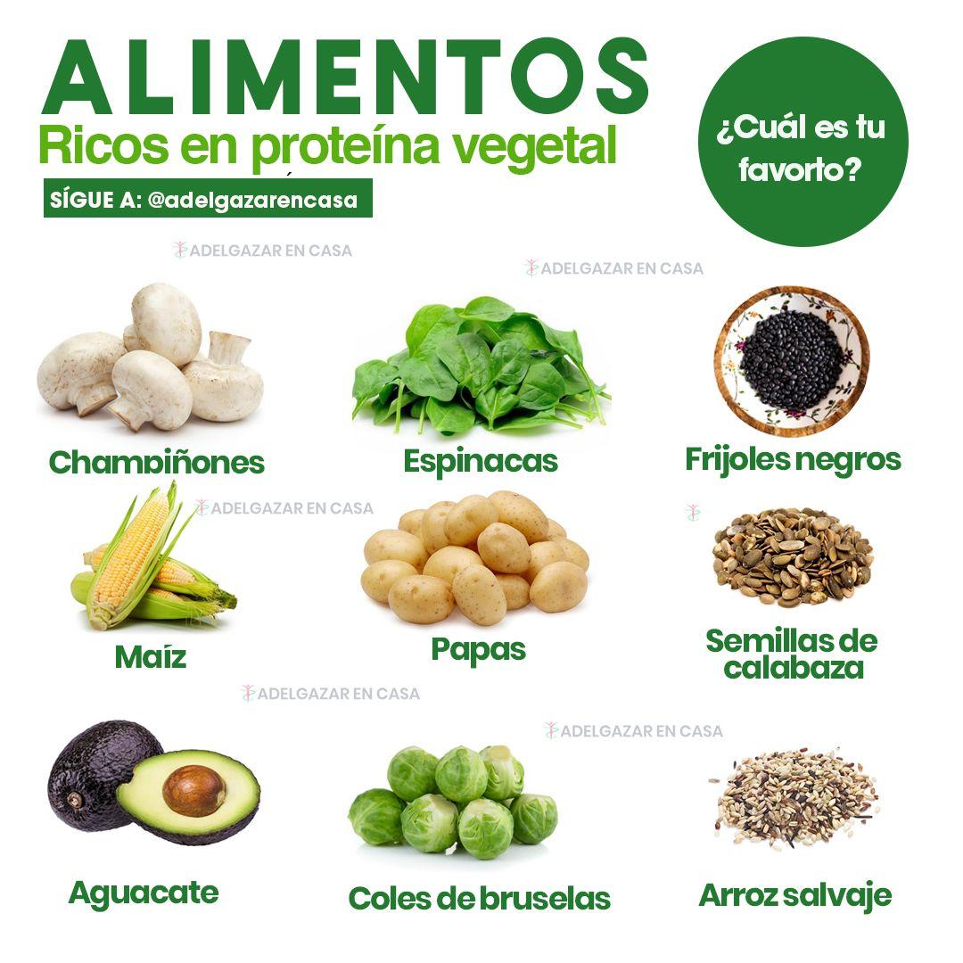 Alimentos vegetales que pueden sustituir la carne