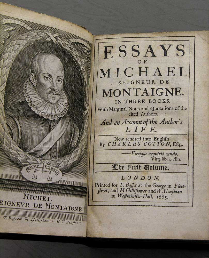 French renaissance writer michel de montaigne 1533 1592