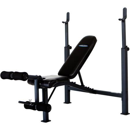 Competitor Olympic Multipurpose Home Gym Workout Fitness Weight Bench Walmart Com Weight Benches Olympic Weights At Home Gym