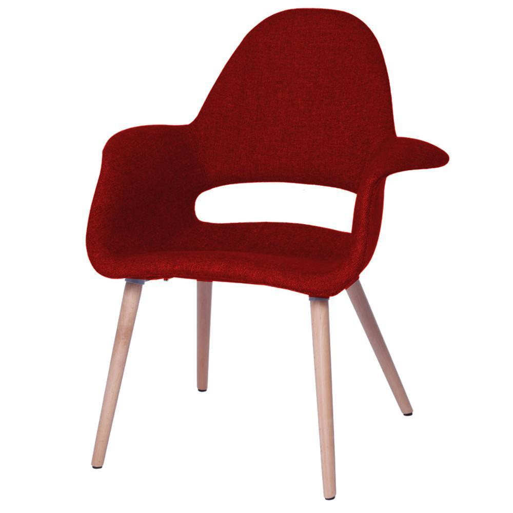 Fine Mod Imports Fmi10086 Red Forza Dining Chair Red Dining