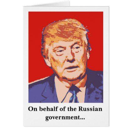 America Donald Trump Funny Birthday Card
