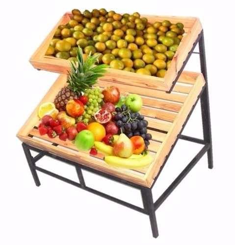 Expositor Frutas Legumes Sacolão Mercado Hortifruti R 449 90 Expositores De Frutas Frutas Expositores