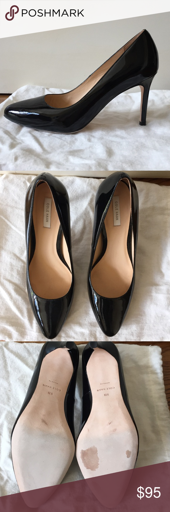 Cole Haan Bethany (85mm) Pumps This is the perfect pump for both work and regular life! I own four pairs of these in different colors, wore this pair once inside my office (never outdoors, only one day) before realizing is bought the wrong size. Cole Haan Shoes Heels