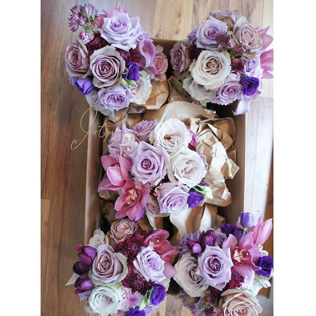 Fabulous Vancouver Florist Bridesmaid Bouquets From