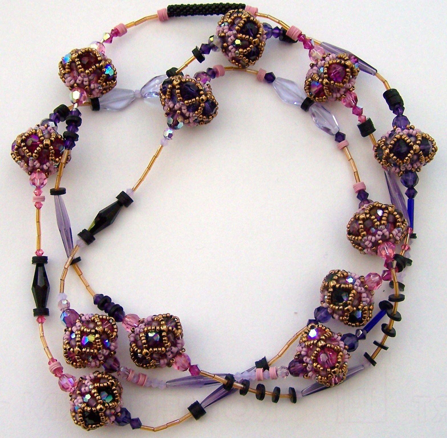 Alle meine Perlen: beaded beads